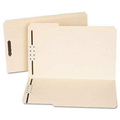 UNIVERSAL Manila Folders Two Fasteners 1/3 Tab Legal 50/Box 13520 Manila Folders 1 Fastener