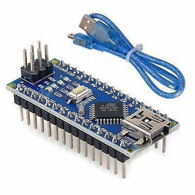 Mini Nano V3.0 Atmega328p Micro Controller Board Usb Cable For Arduino Us Stock