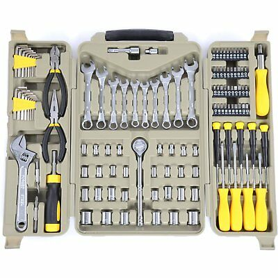 JEGS 80427 123-Piece Tool Set with Carry Case