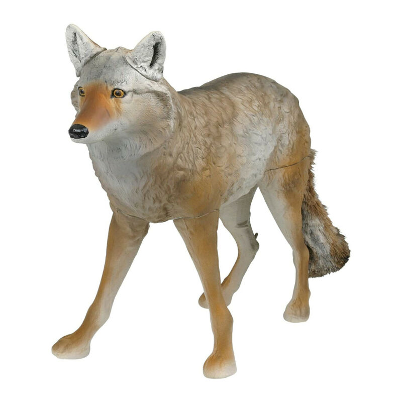 Flambeau Outdoor 5985MS-1 Lone Howler Coyote Decoy with Fauz Fur Tail, One Size