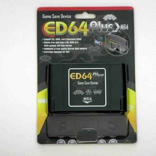 N64 ED64 Plus 16gb Preloaded SD Card US EU JP PAL NTSC 340 in 1 Multi Game Save