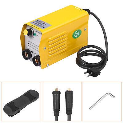 110v 200a Mini Electric Welding Machine Igbt Dc Inverter Arc Stick Weld-er B2x5