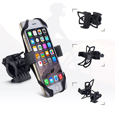 Universal Motorcycle MTB Bike Bicycle Handlebar Mount Holder for Cell Phone
