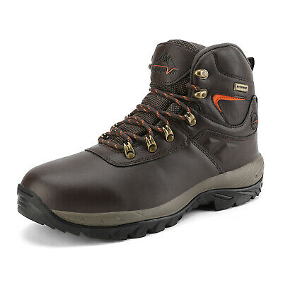 NORTIV 8 Men's Waterproof Hiking Boots Mid Outdoor Backpacking Lightweight Shoes