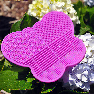 # 1 Silicone Makeup Brush Cleaning Mat -Butterfly shape Best Cleaner Pad (Best Makeup Brush Cleaner)