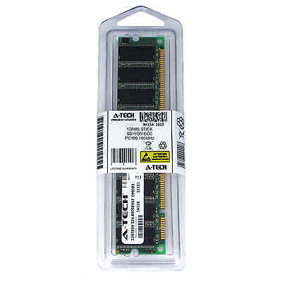 - 128MB STICK DIMM SD NON-ECC PC100 100 100MHz 100 MHz SDRam 128 128M Ram Memory