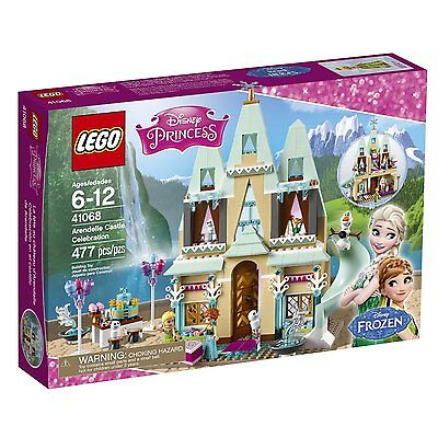 New Lego Disney Princess 41068 Arendelle Castle Celebration Frozen Anna And Elsa