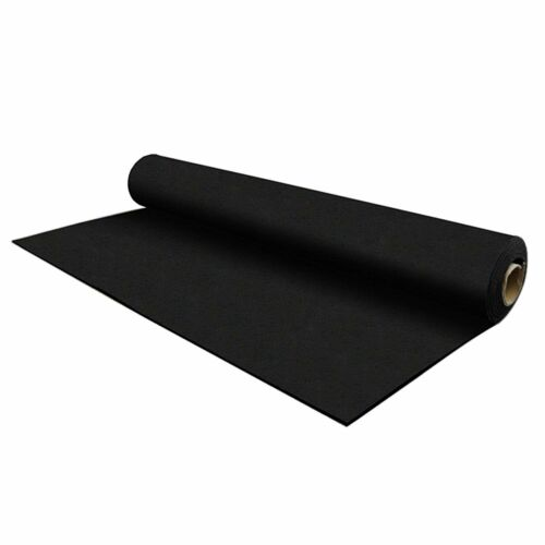 FlooringInc 8mm Thick Strong Rubber Rolls, Exercise & Gym Equipment Mats, 4