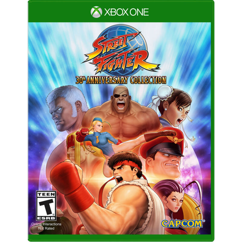 Street Fighter: 30th Anniversary Collection Xbox One [Brand New]