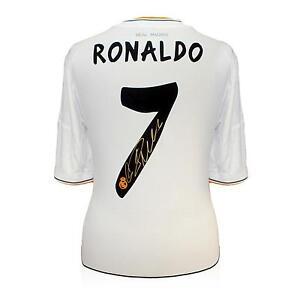 Ronaldo Signed Shirts e9f4f07ac