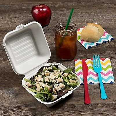California Containers - Take Out Boxes Clamshell Hinged Biodegradable To Go F...