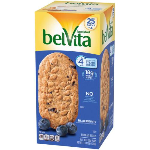 belVita Blueberry Breakfast Biscuits (25 pk.)