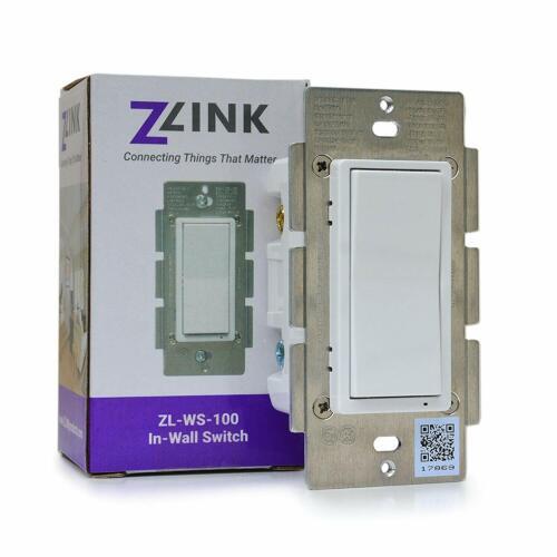 Zlink Z-Wave Plus, S2, SmartStart, In-Wall Switch - ZL-WS-100