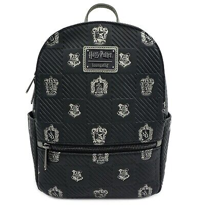Loungefly x Harry Potter Hogwarts Crest Mini Faux Leather Backpack - NEW!