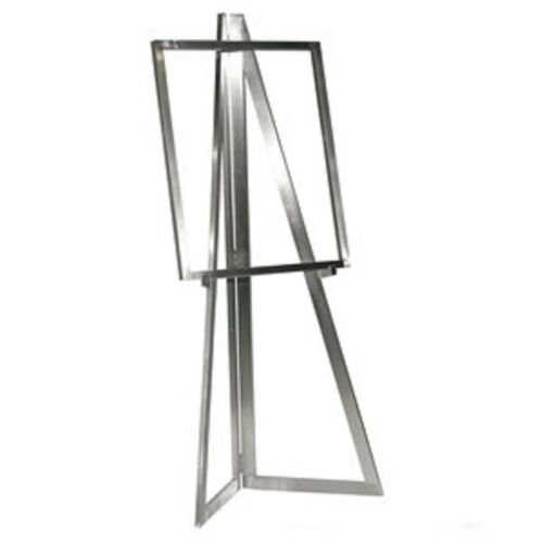 Only Hangers Satin Chrome Floor Easel