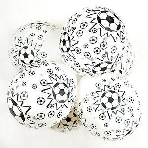 10 X 12'' Football Soccer Birthday Party Latex Balloons Ideal Decoration