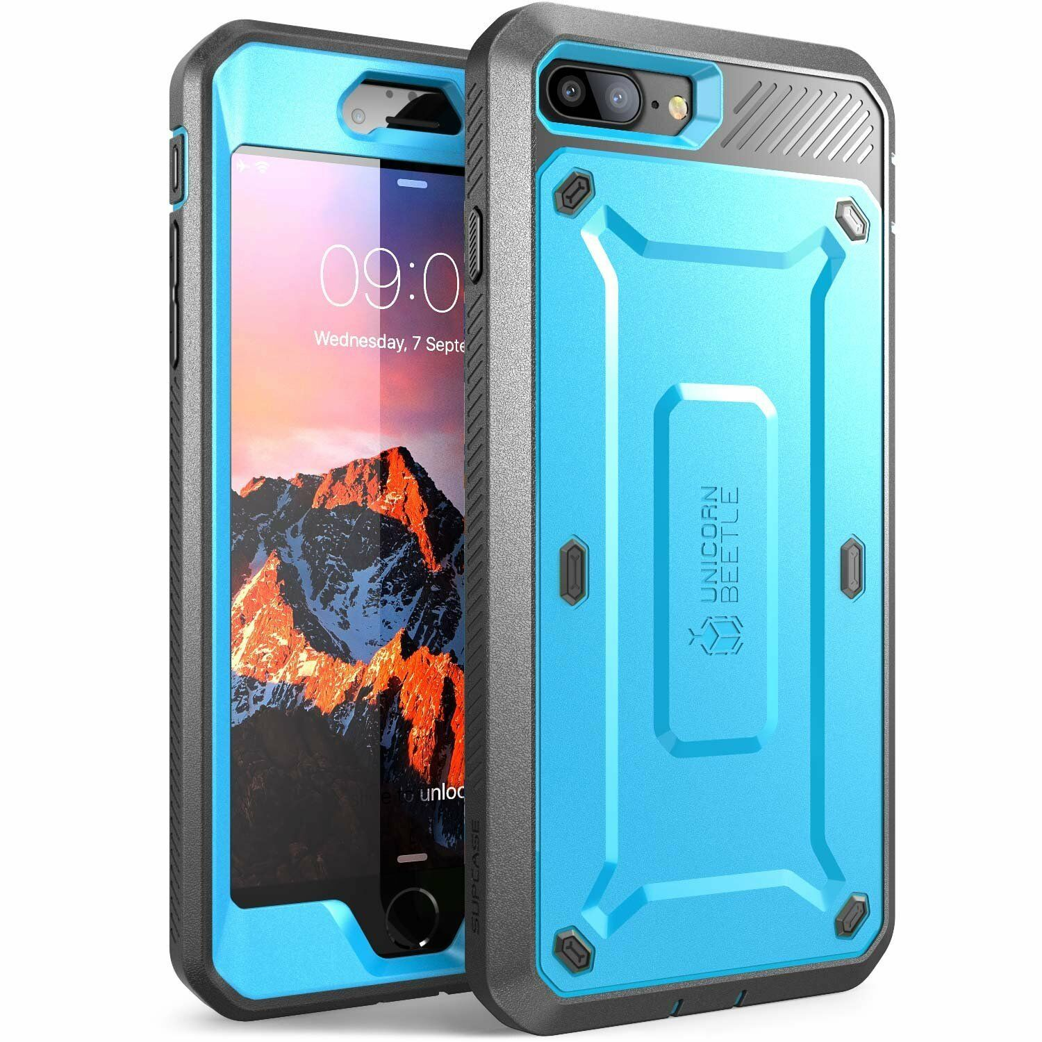Apple iPhone Case Supcase UBPro Full Body Cover Screen Protector For 5s 6 7 8