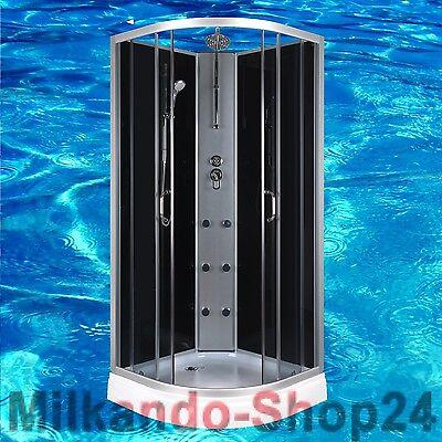 DUSCHTEMPEL FERTIGDUSCHE DUSCHKABINE GLAS KOMPLETT DUSCHE Wanne 90 X 90cm Dusche