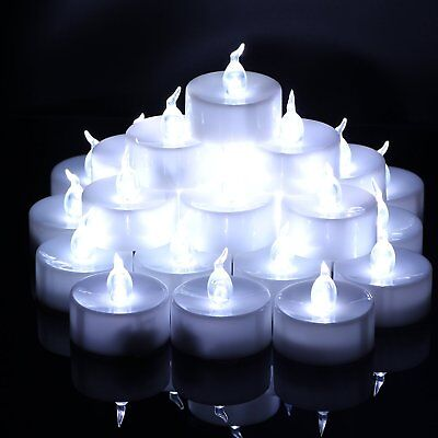 Flameless LED Tea Lights Electric Fake Candles Battery Operated for Wedding Vase - Fake Candle