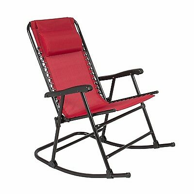 Best Choice Products Folding Rocking Chair Foldable Rocker Outdoor Patio (Best Choice Rocking Chair)