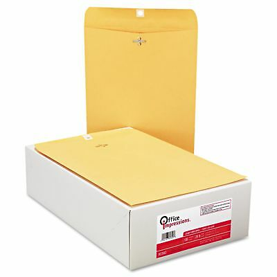 200 Clasp Envelopes 9 X 12 9x12 9 X 12 Brown Kraft 2 Boxes Of 100 Count
