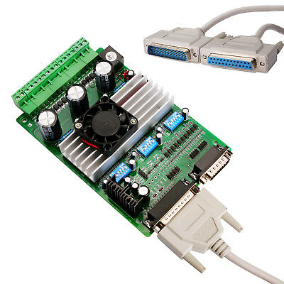 3axis Driver Board Tb6560 Peak3.5a16micsteps Mach3 Software Step Motor