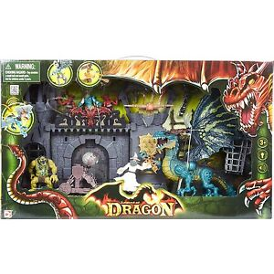 Legend Of Dragon Dragon Doom Castle Attack Large Playset Chap Mei