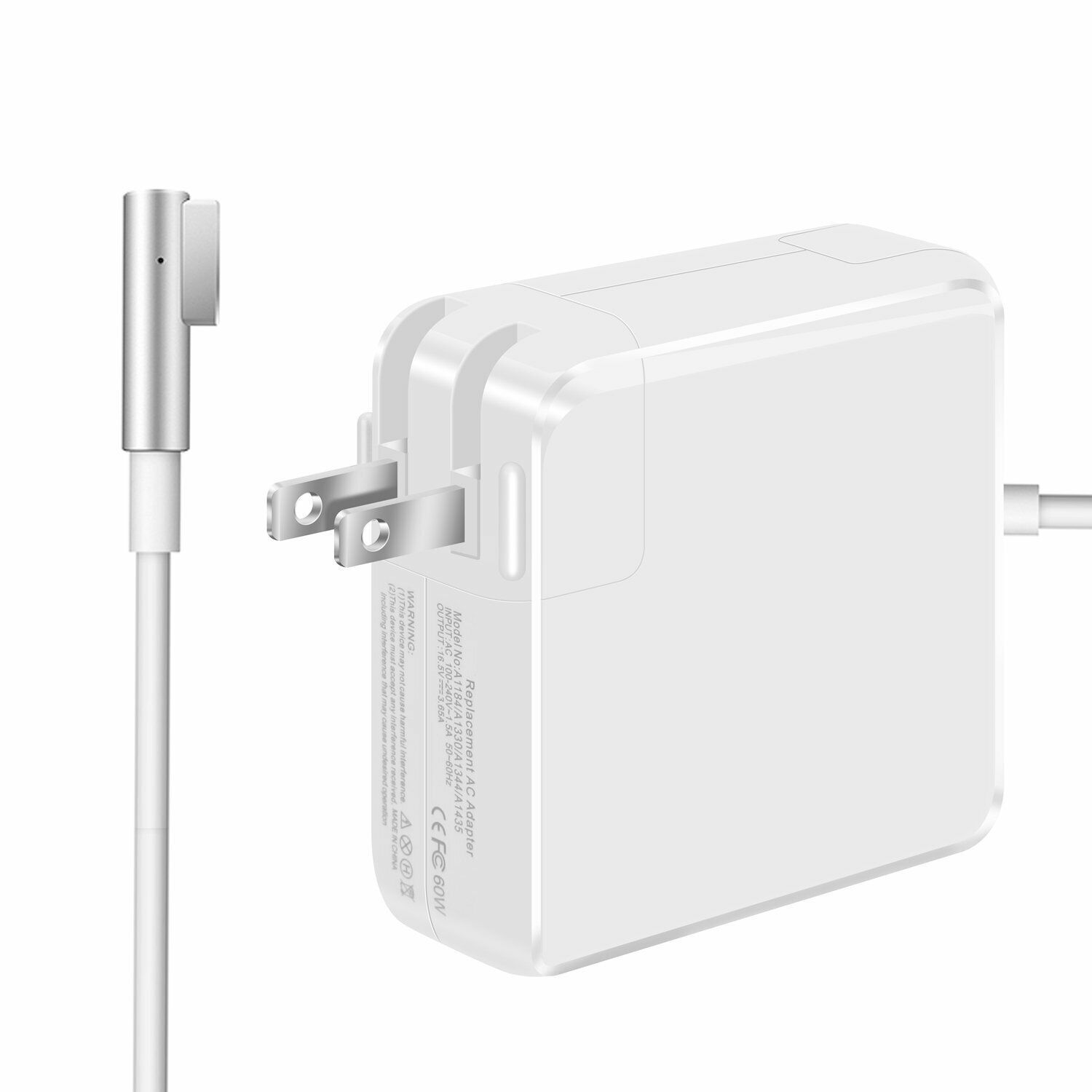 Macbook Pro Charger,New 85W L-Tip Power Adapter Charger for