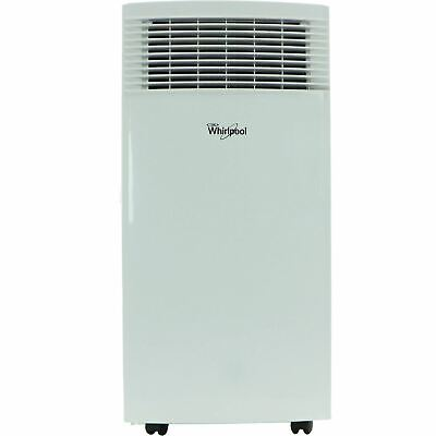 Whirlpool 10,000 BTU Single-Exhaust Portable Air Conditioner with Remote Control