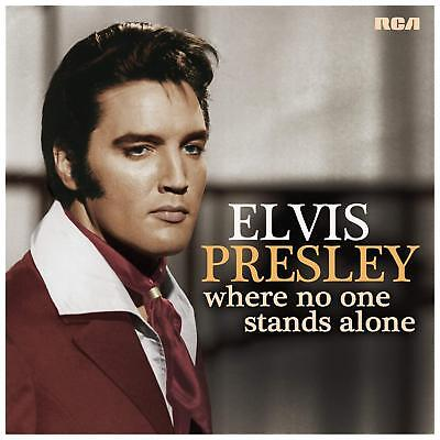 ELVIS PRESLEY WHERE NO ONE STANDS ALONE VINYL LP (Released August 10th 2018)