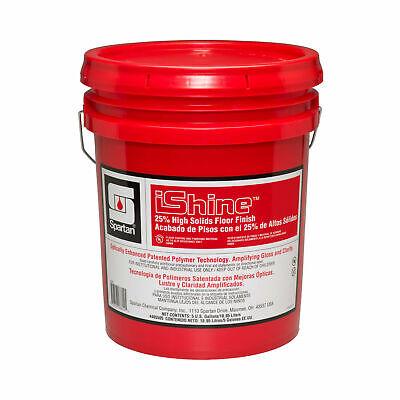 5 Gallons Spartan Ishine Floor Finish