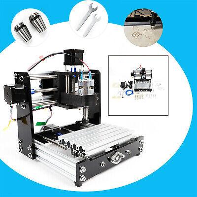 Cnc 1018 Desktop Mini Engraving Machine Milling Engraver Router Pcb Metal Diy Us