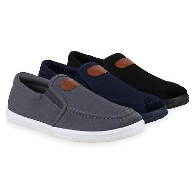 Herren Sneaker Slip Ons Bequeme Slippers Profil Sohle 830711 Schuhe Herren Schuhe Slip-ons