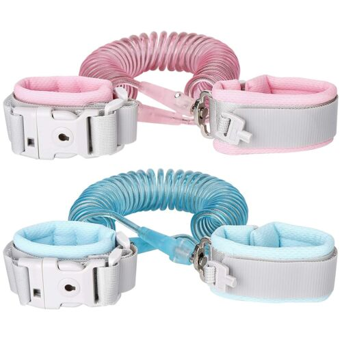 Anti Lost Wrist Link Safety Wrist Link for Toddlers, Babies & Kids(6.5Ft)2Meter