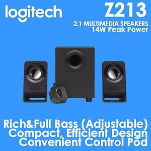 Logitech Z213 Compact Speaker System For Computer Laptop DVD North Lakes Pine Rivers Area Preview