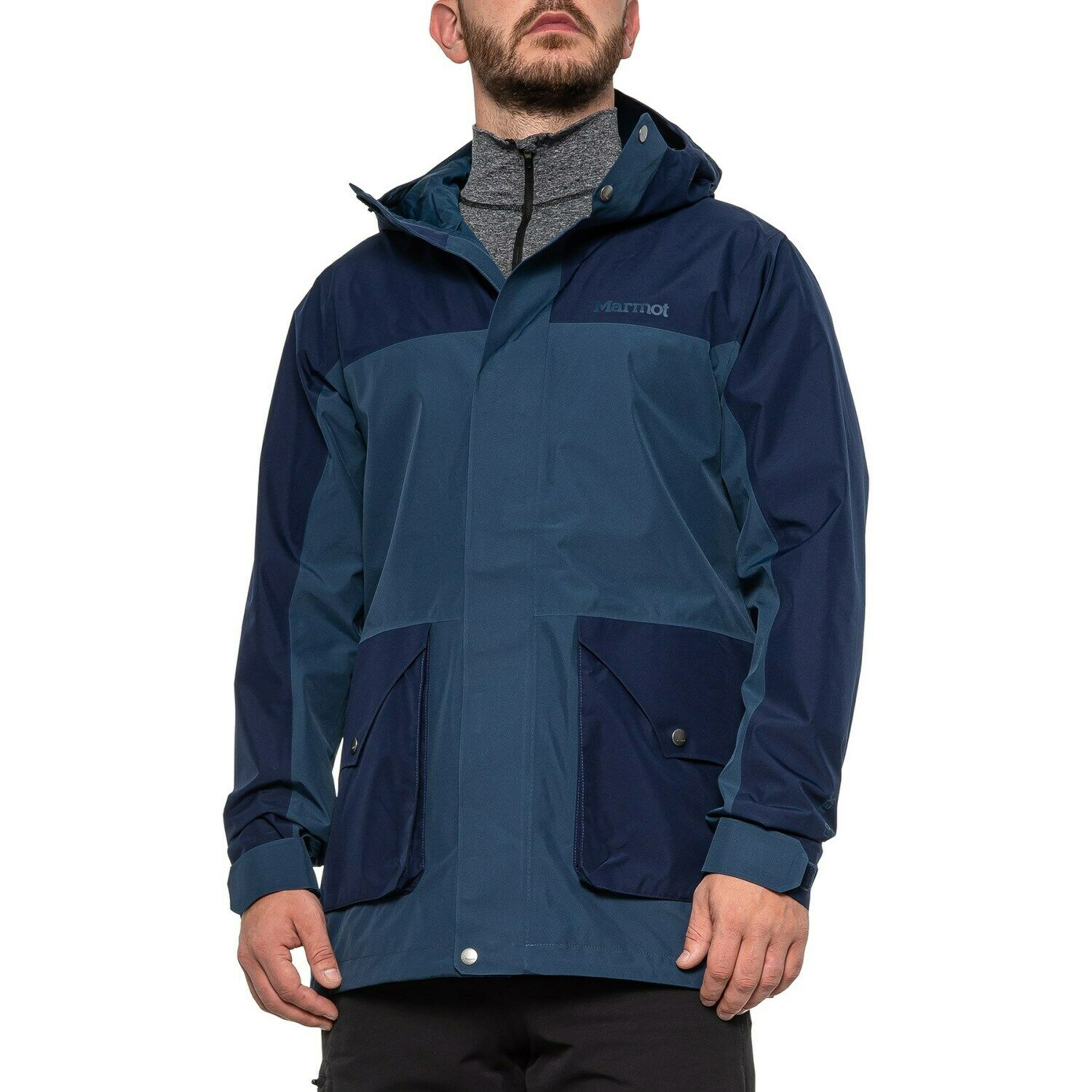 Marmot Wend Jacket Gore-Tex Hooded '74 Collection Blue NEW M