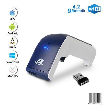 1d Wireless Bluetooth Barcode Scanner 3-in-1 Handheld Usb Barcode Reader
