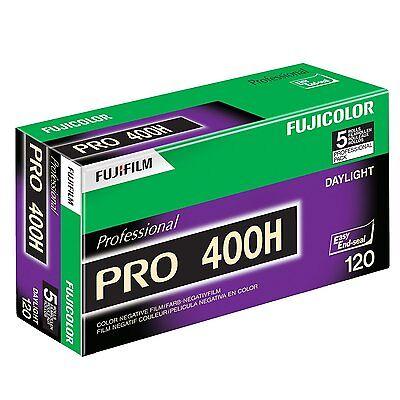 10 Rolls Fuji Pro Color 400H ISO 400 120 Color Unenthusiastic Film, 02/2020 FRESH