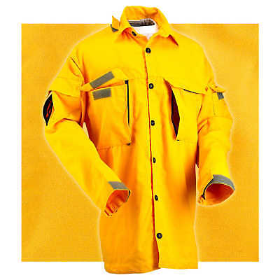 Large Coaxsher Cx Wildland Vent Brush Shirt Chest 44 To 48
