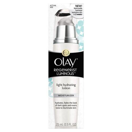 Olay Regenerist Luminous Light Hydrating Face Lotion, 2.5 fl