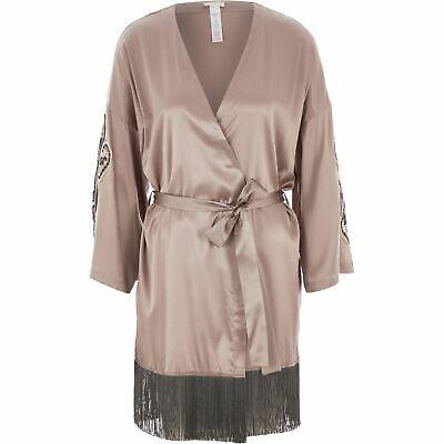 Hanro of Switzerland luxury dressing gown , silk robe,  size M, RRP £530