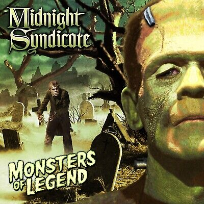 Midnight Syndicate Monsters Of Legend Halloween Party Background Music CD ](Halloween Background Music)