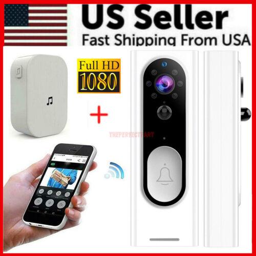Two-Way Door Bell WiFi Wireless Video 1080P HD Doorbell Smart Security Camera