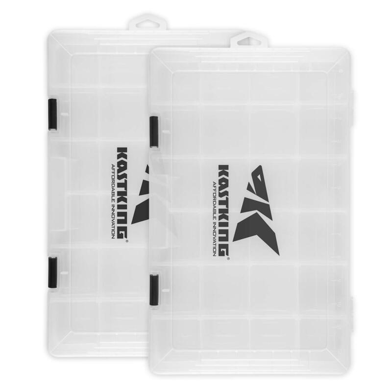 KastKing Tackle Box 2 Packs Utility Tray 3600 & 3700 Fishing Tackle Storage
