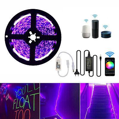 Schwarzlicht LED UV led Strip Streifen Deko Lila - Lila Led Halloween Lichter