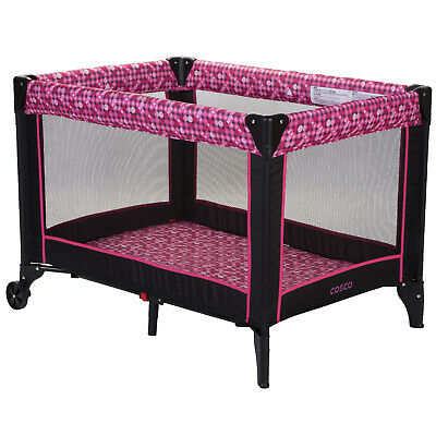 portable crib playpen baby toddler kid travel