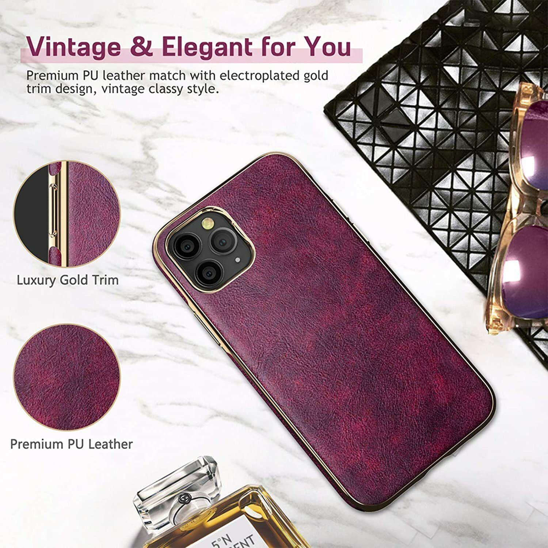 LOHASIC Designed for iPhone 12 Pro Max Case Women, Slim Mage