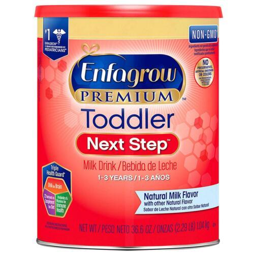 Enfagrow Premium Non-GMO Toddler Next Step Formula Stage 3, 36.6 oz EXP:02/2021
