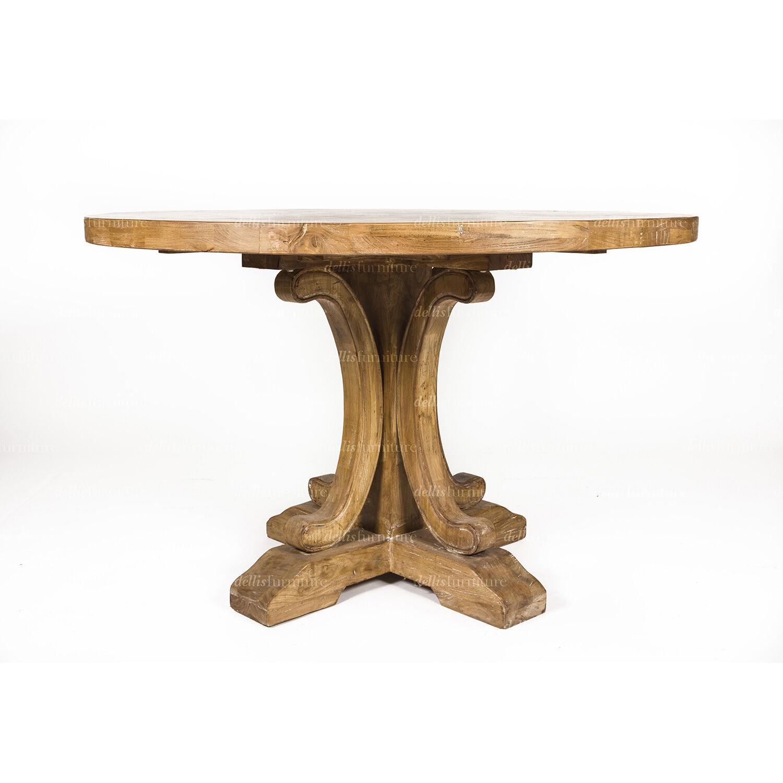 table ronde 120 cm conceptions de maison. Black Bedroom Furniture Sets. Home Design Ideas