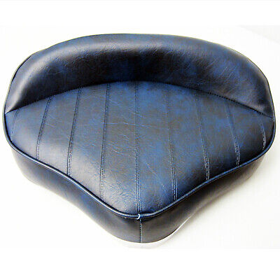 Wise New Fishing Pro Casting Seat Boat Bike Butt Chair NAVY BLUE -